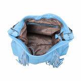 Große Süßigkeit-blauer Franse-Frauen-Beutel (MBNO041053)