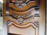 De dubbele Ontwerpen van de HoofdDeur van de Ingang van het Blad Houten voor Huis (GSP1-025)