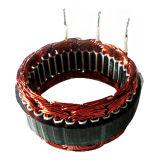 Enroulement automatique de stator et cale de bobine insérant la machine