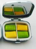 Beweglicher Pille-Kasten 2 kerbt einen Tagespille-Kasten-medizinischen Droge-Medizin-Speicher-Fall-Organisator-Großverkauf