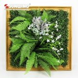 Bâti artificiel personnalisé Anti-UV amovible de photo d'usines de DIY