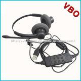 Disturbo biauricolare che annulla la cuffia avricolare del USB della call center con Qd