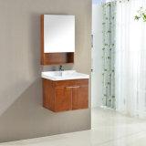 Gesundheitliche Ware-moderne Art-Eichen-Holz-Badezimmer-Eitelkeit/Schrank