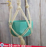 Nature Cotton Soft Macrame Pot Plant Holder Deco Home Craft