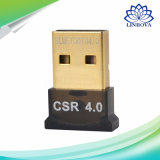 PC 휴대용 퍼스널 컴퓨터 승리 XP/V/7/8/10 헤드폰 나무 딸기 Pi 2를 위한 USB 2.0 Bluetooth 4.0 CSR V4.0 Dongle 접합기 EDR USB bluetooth 수신기