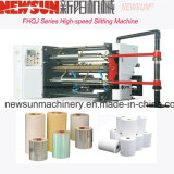 Inspección de alta velocidad y la máquina de corte longitudinal para el PVC