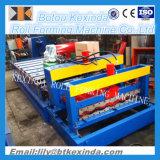 Azulejo de azotea esmaltado galvanizado 828 que hace la maquinaria