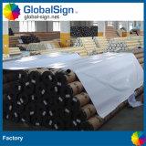 PVC屋外のメッシュ生地、網の旗を広告する網材料