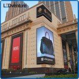 Afficheur LED extérieur polychrome de pH10mm pour des supports publicitaires imperméables à l'eau