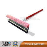 Сквиджи с красной деревянной ручкой для инструмента чистки