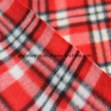 小切手デザインのブラシをかけられた北極の羊毛