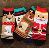 Вязания лодыжки верхних Sock о Рождество моделей