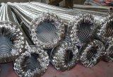 Gewölbter ringförmige metallische Schlauch mit Flechten