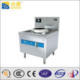 5kwはレストランのためのLED表示が付いているバーナーの誘導の中華なべの炊事道具を選抜する