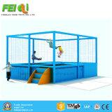 Il trampolino dell'interno del gioco della strumentazione del campo da giuoco del trampolino dei bambini parcheggia il fornitore