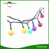20/30/50 LED-Kugel-Zeichenkette beleuchtet angeschaltene Weihnachtslicht-dekorative Solarbeleuchtung für Hausgarten-Patio-Rasen-Partei-Dekorationen