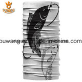 卸し売り毛のアクセサリのカスタム魚の印刷ポリエステルバンダナ管状のHeadwear