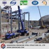 고층 산업 빌딩을%s 무거운 강철 프레임