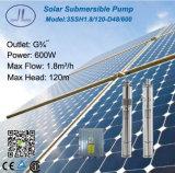 600W 3in 관개를 위한 잠수할 수 있는 태양 DC 펌프, 깊은 우물 펌프