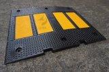 交通安全の製品の耐久のゴム製道の速度のこぶ