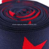나일론 별 높이 탄력 있는 연약한 땋는 길쌈된 자카드 직물 가죽 끈