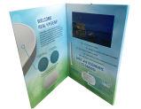 Brochure faite sur commande de vidéo d'écran LCD de l'impression 5.0inch