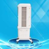 Dispositivo di raffreddamento di aria evaporativo mobile di plastica del ventilatore del condizionatore d'aria del grande ufficio di formato
