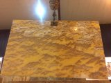 Слябы Onyx материалов украшения померанцовые для плиток/плиток стены/Countertops/верхних частей тщеты/предпосылки