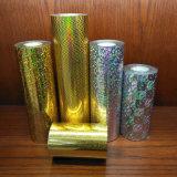 Gold Color Stamping Plastic Foil pour l'emballage cosmétique
