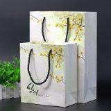 Bolsa Cmyk de papel blanco para compras