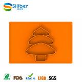 Placa de prato e prato de alimentação resistente a resfriamento de silicone infantil