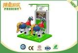 Macchina del gioco di corsa di cavalli di realtà virtuale dei giocattoli di sport con i vetri 3D