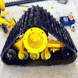 Trilha de borracha Assembly620 do rolamento enorme para o terreno áspero