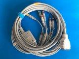Кабель IEC DIN3.0 EKG/ECG Fukuda 15pin