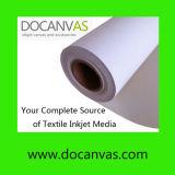 Polyester et coton mélangé Eco Solvant Inkjet Printing Canvas 420GSM