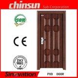Puerta de madera del PVC del sitio del último diseño