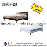 Guangzhou-Fabrik-hölzerne Möbel-modernes ledernes Bett (B02#)