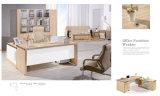 Bureau de bureau combiné moderne avec meuble mobile
