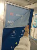 Bandiera di alluminio della visualizzazione del blocco per grafici del tessuto facile del cambiamento (SS-FB-32)