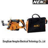 Martelo Nz30-01 elétrico ambiental com sistema de coleção de poeira