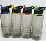 la plastica bevente 750ml mette in mostra la bottiglia di acqua