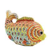 Sac à main élégant en cristal de fantaisie en pierre Leb723 de dames de sac de soirée de poissons petit