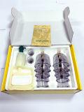 Conjunto sano de ahuecamiento plástico del masaje de la terapia