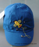 Heiße Fooltball Kind-Baseballmütze mit Stickerei und Drucken-Firmenzeichen