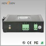 Elektrischer industrieller gehandhabter 5 Netzwerk-Portschalter