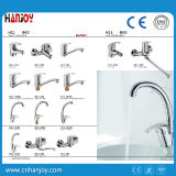 Горячей Faucet кухни раковины ручки сбывания установленный палубой одиночный (H11-103S)