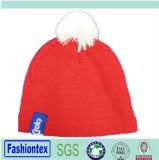 Зимние акриловый Beanie вязки Red Hat