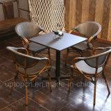 Mesa e cadeiras ao ar livre e interior com cadeira e mesa quadrada PE (SP-CT837)