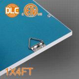 lumière à panneau plat de 1X4FT 130lm/W DEL, garantie de 5 ans