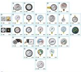 001 27mm 모세관 스테인리스 압력 계기 압력계 또는 미터 계기
